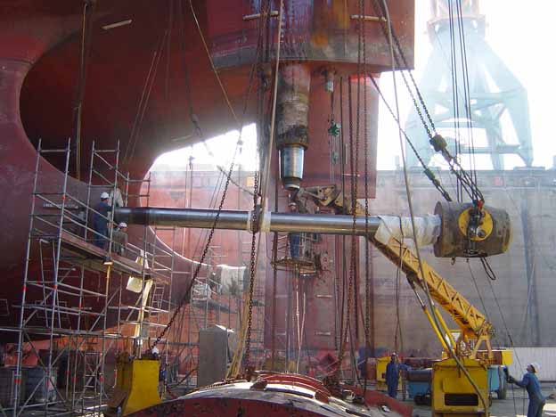 propeller shaft Withdrawal,survey assembly