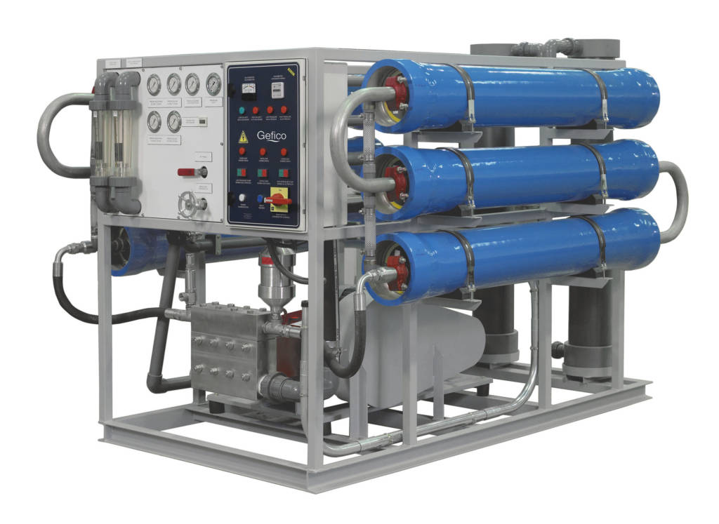 Marine shipboard Reverse Osmosis system