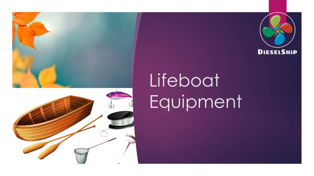 Lifeboat equipment
